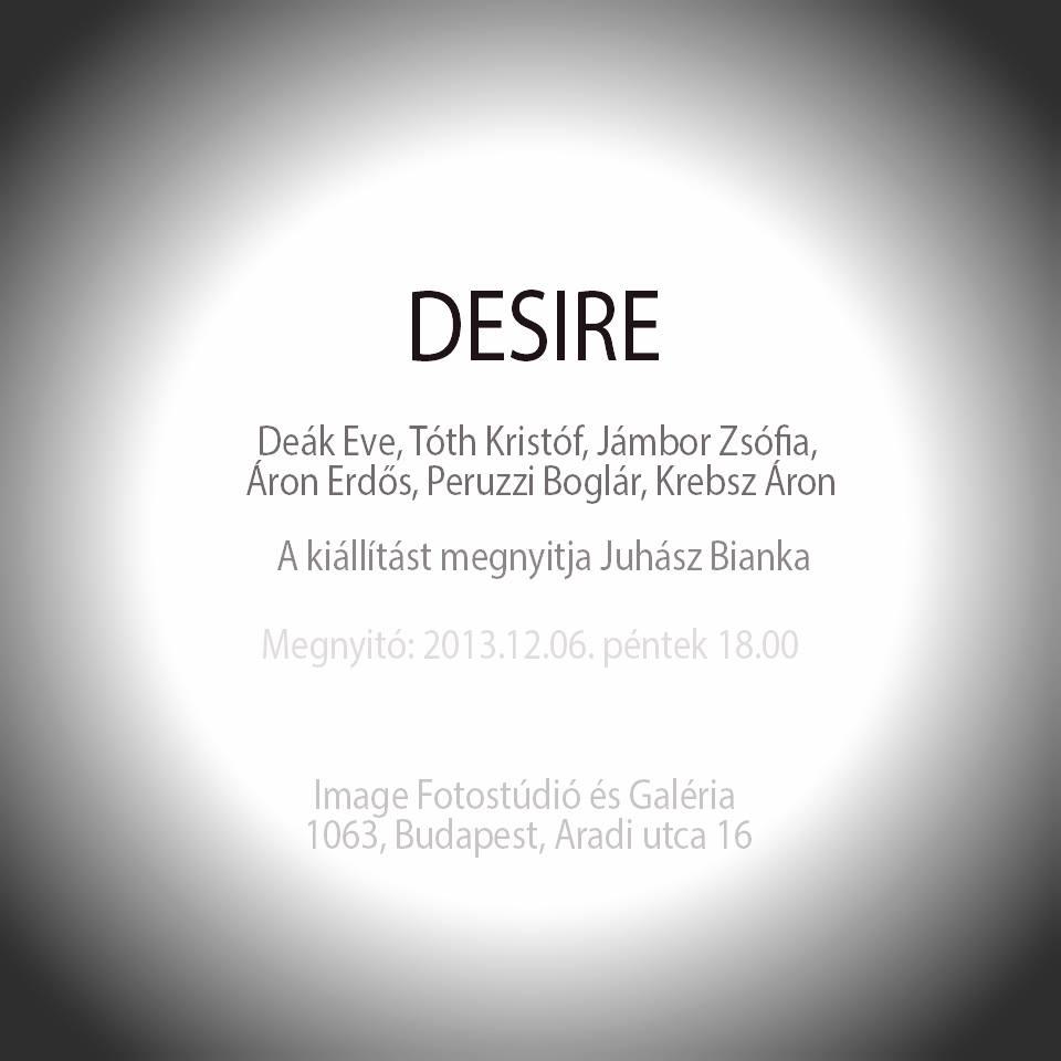 Desire – csoportos divatfotó kiállítás