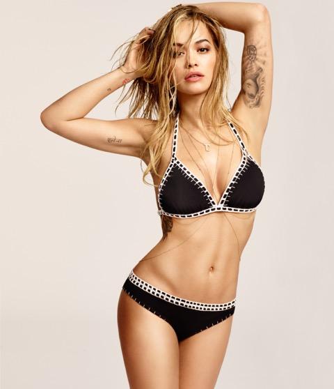 Rita Ora a Tezenis Fürdőruha Kollekciójának Nagykövete