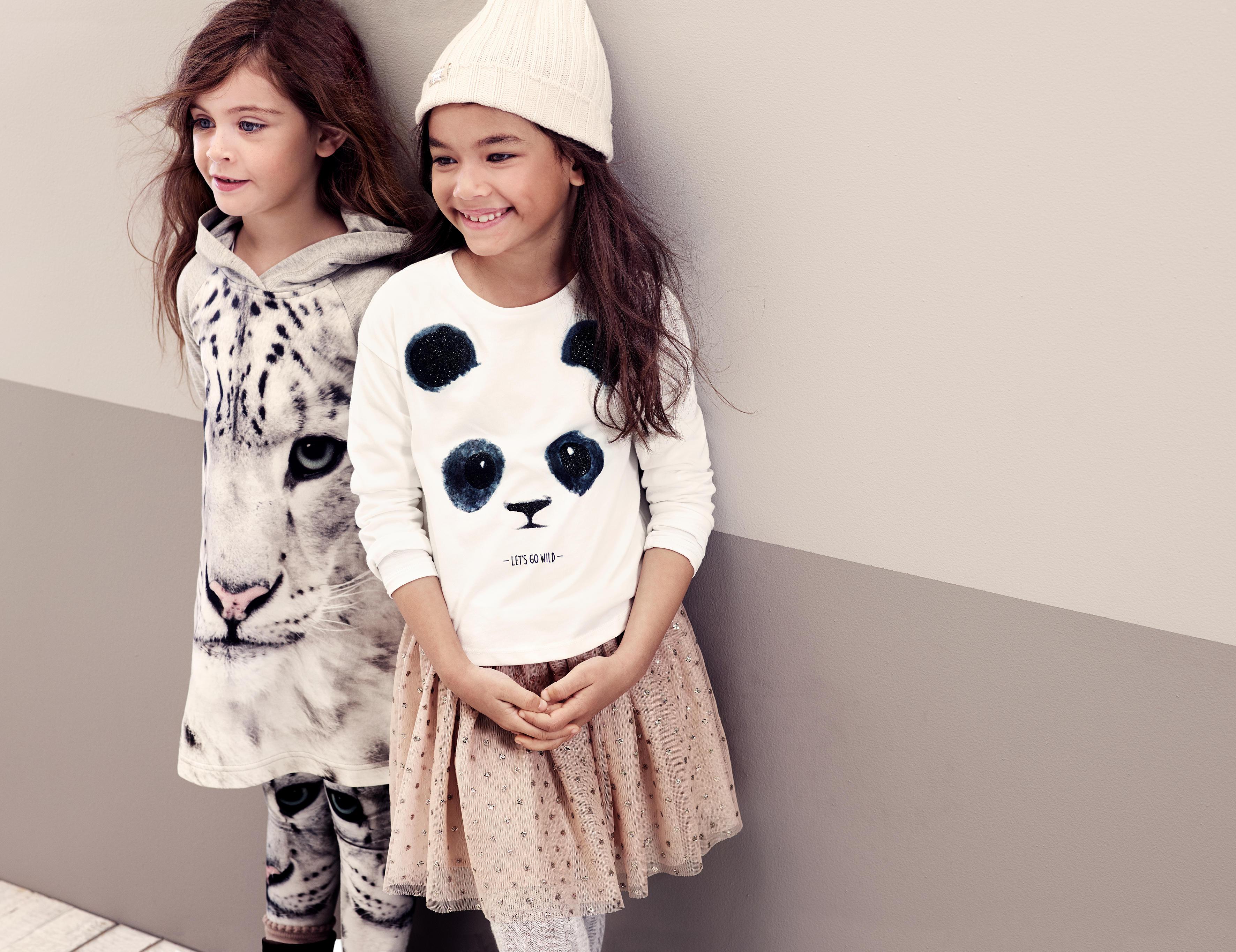A H&M új ikonikus állatfajokat ábrázoló gyerek kollekciója